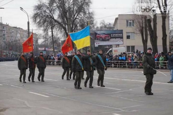 МВС почало розслідування через використання радянської символіки бійцями НГУ вКривому Розі