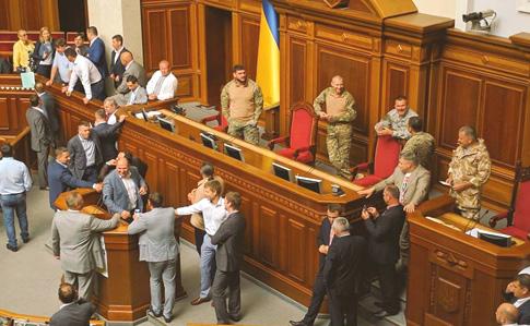 Рада отказалась отменить пленарную неделю 12