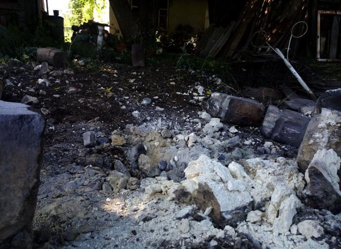 Штаб АТО: Боевики ДНР обстреляли школу вКрасногоровке