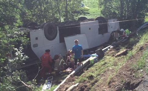 МИД: Автобус, который попал вДТП вНорвегии, был 41 украинец