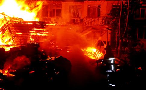 Пожар в Одессе: третья девочка тоже погибла, директора задержали