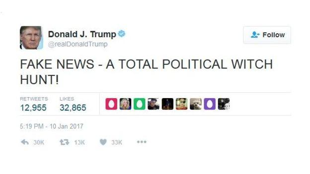 твит Трампа