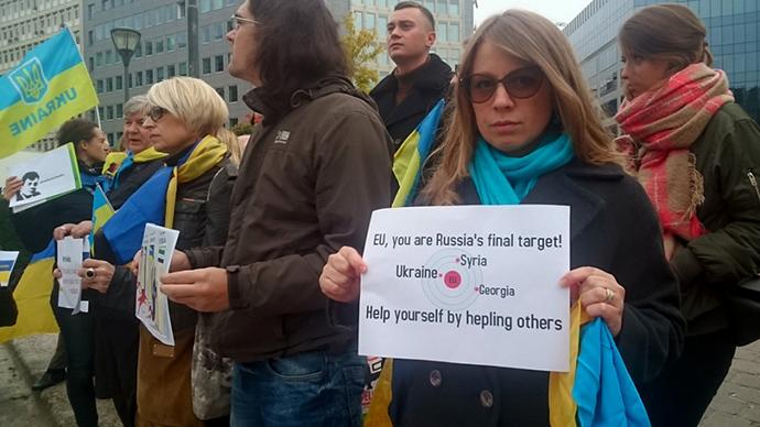 В70 городах мира прошла акция «Stop Putin's War»