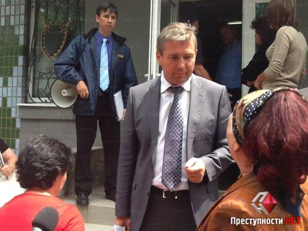 Первый зампрокурора обещал рассмотреть все требования митингущих
