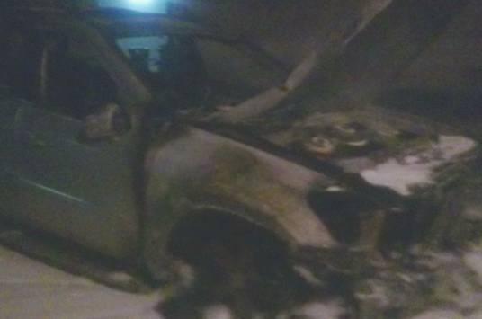 В Ужгороде подожгли авто экс-главы Закарпатского облсовета
