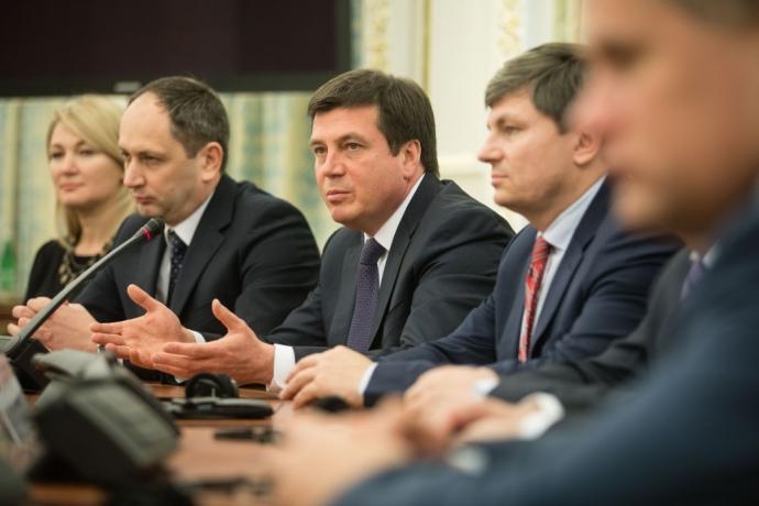 В уряді з вересня 2016-го року діє Координаційна рада з питань відновлення та розбудови миру