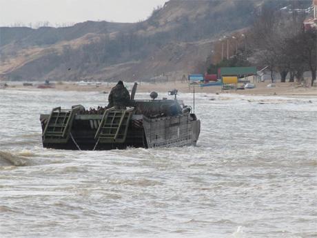 Сапери замінували частину узбережжя Азовського моря 2