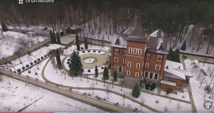 Теща итесть Турчинова приобрели чудный особняк под Киевом