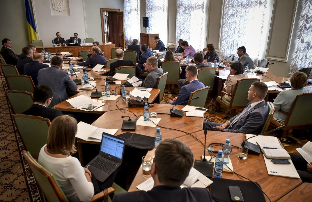 Совет по задачам судебной реформы одобрил проект закона «ОВысшем совете правосудия»