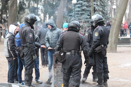 Міліція з народом від Партії регіонів