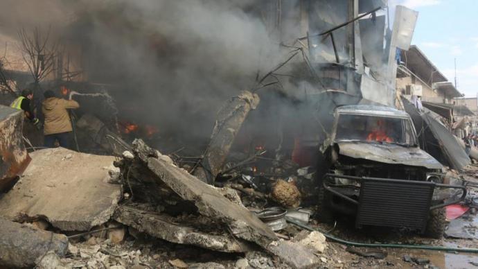 Жертвами взрыва всирийском Аазазе стали покрайней мере 19 человек