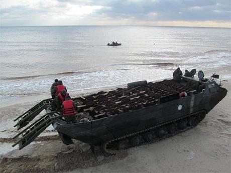 Сапери замінували частину узбережжя Азовського моря 4