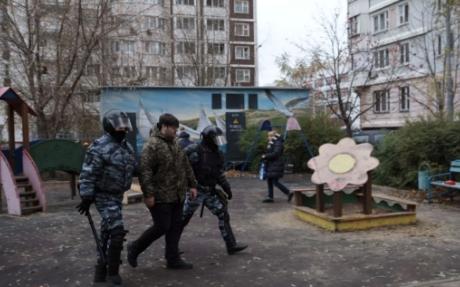 «Русский марш» в столице собрал 200 человек
