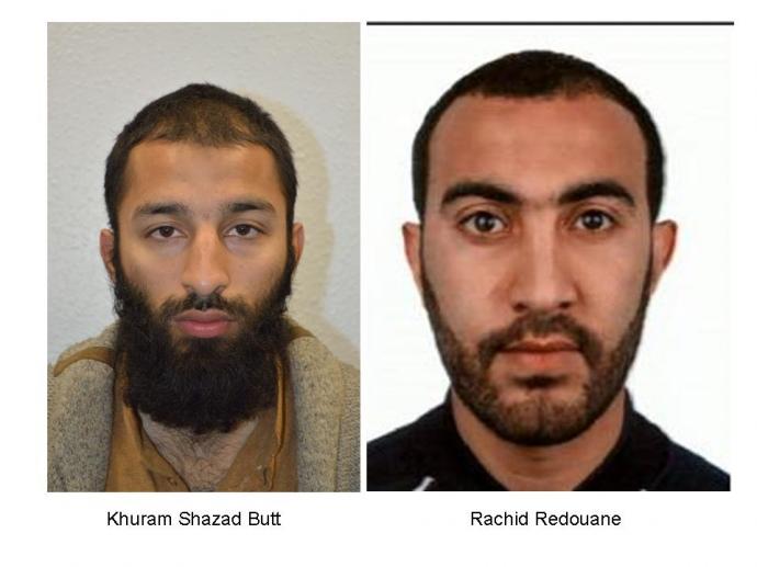 Скотленд-Ярд назвал имена 2-х исполнителей терактов встолице Англии