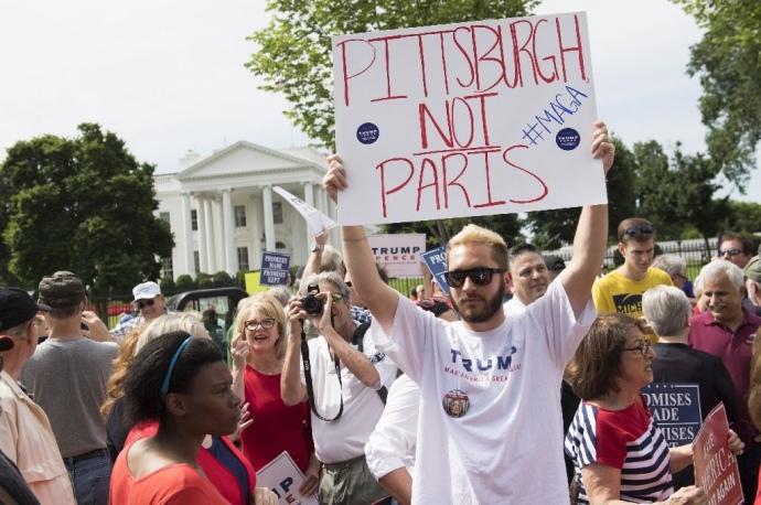 США смогут выйти изклиматического соглашения не доэтого 2020-ого года