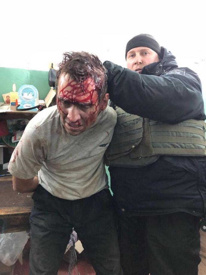 В Харькове задержали мужчину, державшего в заложниках отделение