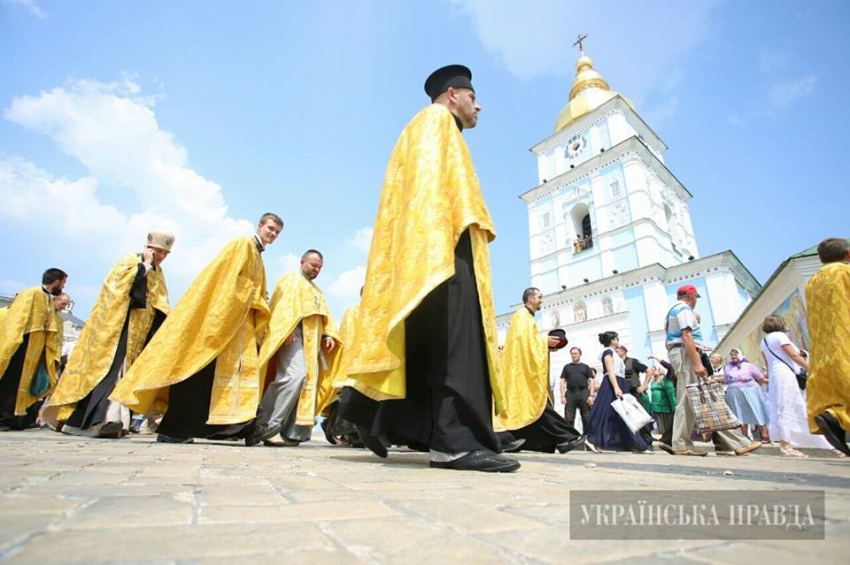 Хресна хода УПЦ КП. 28 липня. Фото: Дмитро Ларін