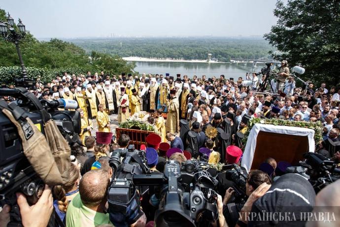 27 липня, Володимирська гірка