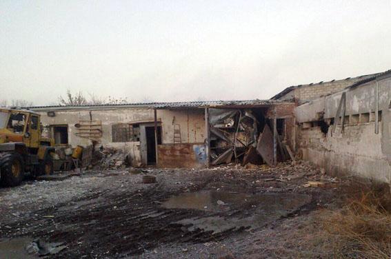 ВДонецкой области погиб мирный житель врезультате артобстрела