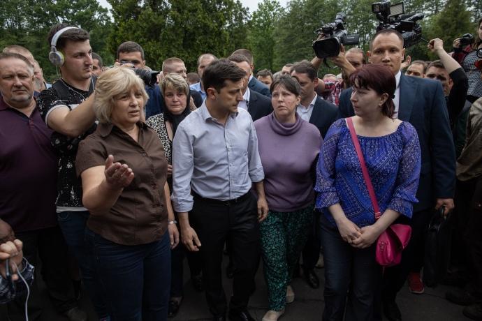 89c76059f44f91 Зеленський відвідав шахту, де внаслідок аварії загинули гірники, та скликає  РНБО