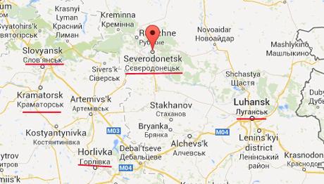 Сили АТО звільнили Сєвєродонецьк, над містом майорить український прапор 4