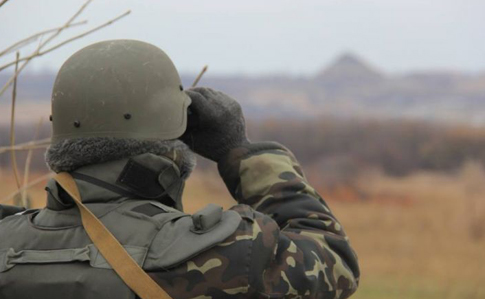 Засутки взоне АТО был ранен один военнослужащий
