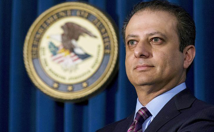 Экс-прокурор Манхэттена рассказал о«необычных» звонках Трампа