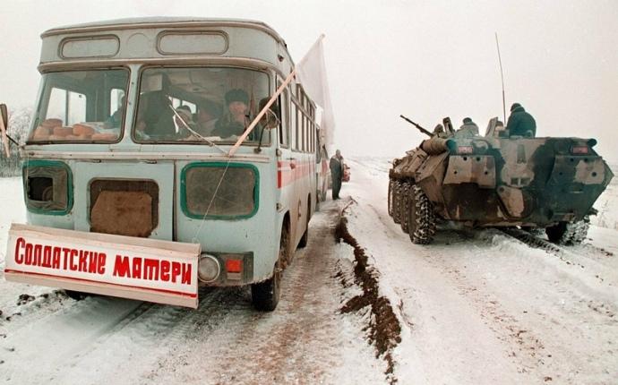 Солдатські матері в Чечні