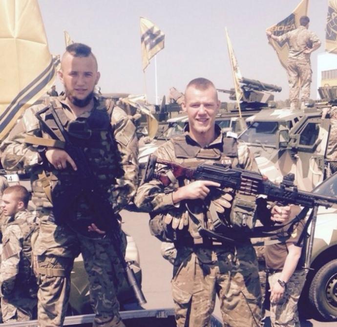 Лідер харківських фанатів Сергій Величко служив у складі