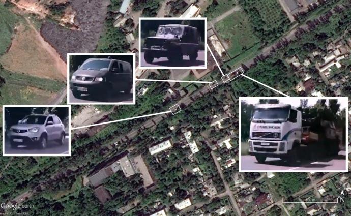 Новые подтверждения Bellingcat: «Бук» везли через Макеевку вдень сбития MH17
