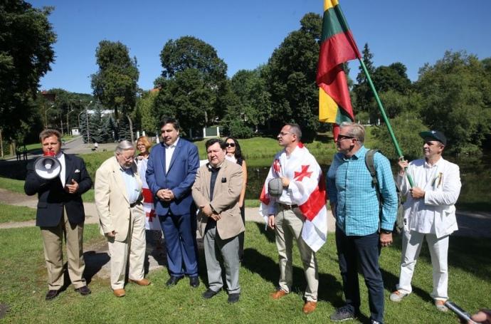 Саакашвілі відмовився від громадянства Литви