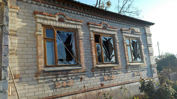 ««Хроника событий «Видеоновости «ВДонецкой области обстрелы разрушили больше десятка домов