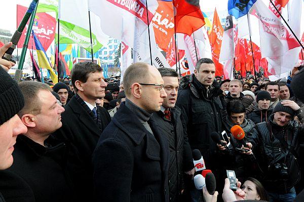 Трійка опозиційних лідерів у Франківську