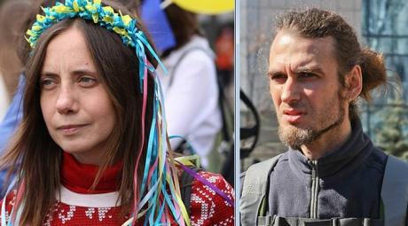 Терористи взяли в полон активістів Олексія Біду і Ганну Мокроусову