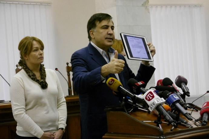 ВУкраинском государстве открыли дело наотказавшуюся арестовывать Саакашвили судью