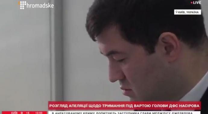 Насиров и народные избранники уже всуде, под судом активисты