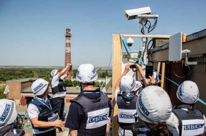 Камера ОБСЕ на Донецкой фильтровальной станции проработала только один день (ФОТО), фото-1