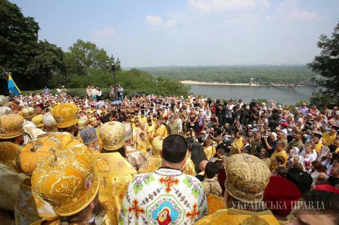 Володимирська гірка, 28 липня