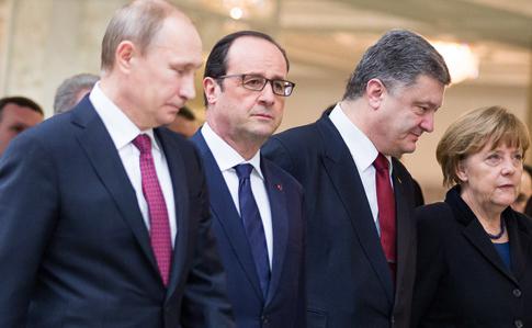 Кремль: Нормандська четвірка незнаходить спільної мови