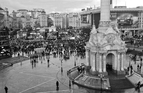 Єврореволюція. День другий   Українська правда