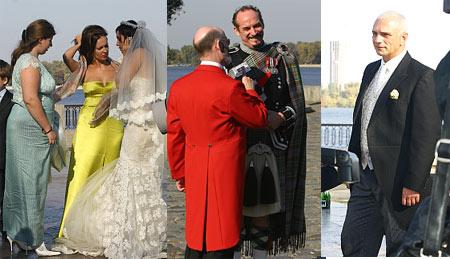 наречена, гості, тато