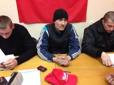 Силовики, затримані на Майдані