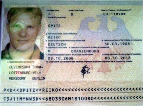 Паспорт Опитца