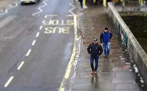 Милиция обнародовала новые видео подозреваемых— Отравление Скрипалей