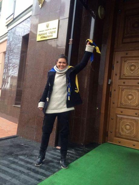Руслана перед допитом