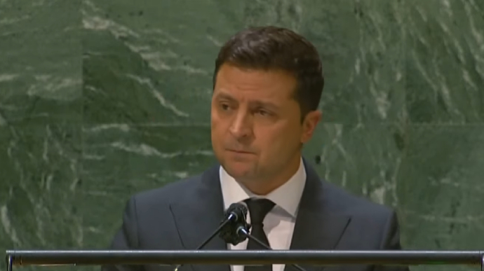 """""""Here is the price of reform"""": From the podium of the General Assembly, Zelensky described the attack on Shafi – UKRAINE TRUTH"""