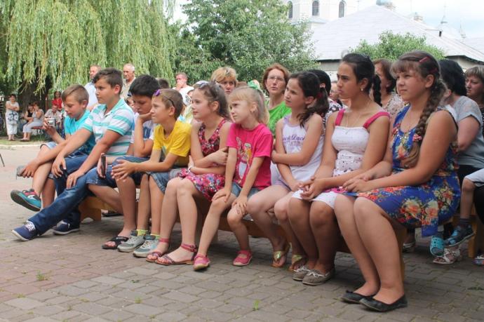 В Комарові серед публіки дітей було не менше, ніж дорослих