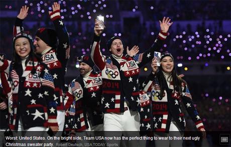 Не пожаловали эксперты и форму собственной олимпийской сборной