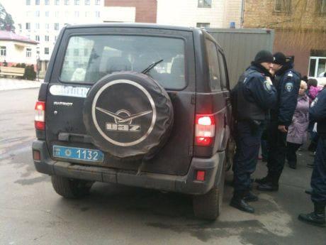 Милиция приехала в больницу, где находятся раненные