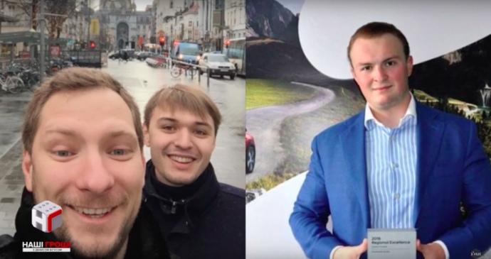 З ліва на право: Рогоза, Жуков, Гладковський